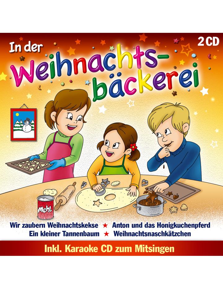 Die Sternenkinder - In der Weihnachtsbäckerei 16 fröhliche ...