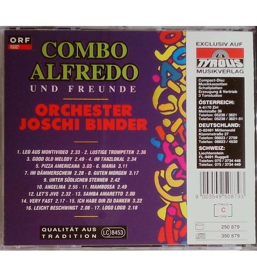 Combo Alfredo Orchester Joschi Binder Orf Präsentiert