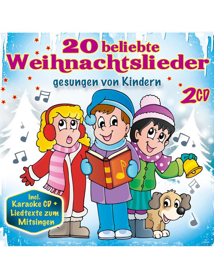 20 beliebte Weihnachtslieder gesungen von Kindern incl. Karaoke-CD ...